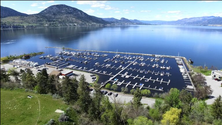 Okanagan Lake Marina View